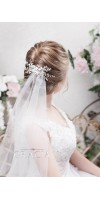 ALEXA bridal hair comb pearl wedding comb
