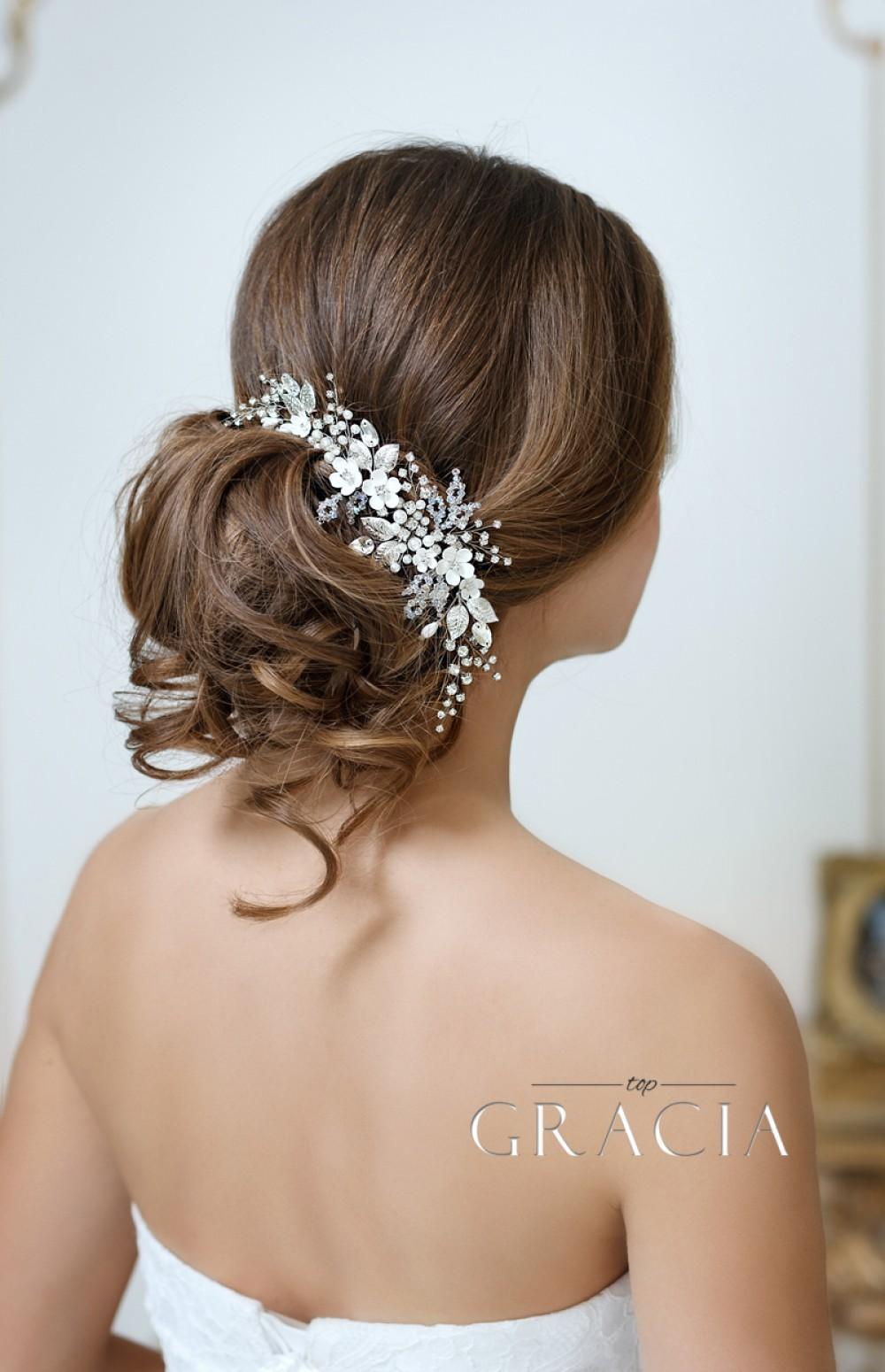 Bridal Headbands Topgracia Handmade Bridesmaid Bridal Hair