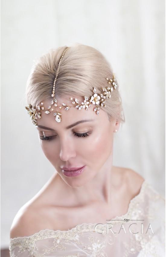 AIRLA Bridal Halo Headpiece: The Magic Beauty Wedding Chain Headpiece