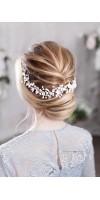 BARA Flower Bridal Headpiece for Sensitive Romantic Brides