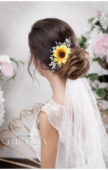 CALLI Rustic Headpiece Be the Sun of Your Big Day - Autumn Wedding!