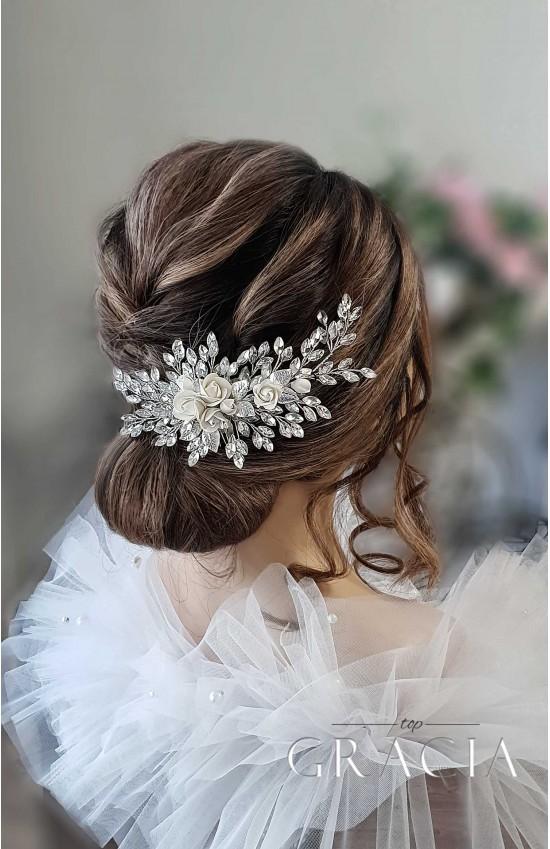 CRYSTA wedding hairpiece