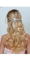 DESPOINA Starfish headband For Destination Wedding - beach wedding hair starfish accessories