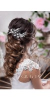 GLYKERIA Crystal Flower Hair Pins Wedding Hairpins Bobby Pins