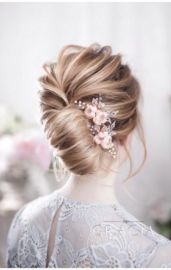 INSAR Blush Wedding Hairpins for Romantic Brides