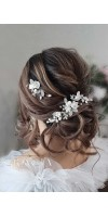 KIRA Rose Wedding Hairpiece