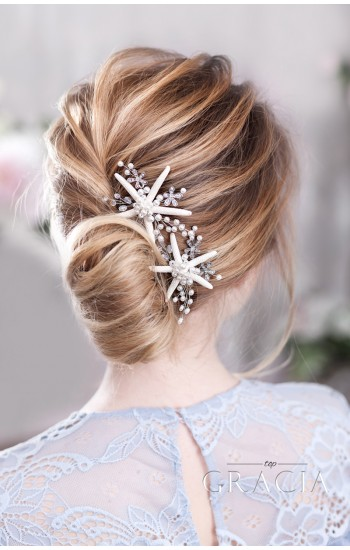 MARI Starfish Hairpiece for Original Beach Brides
