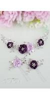 MIA Purple Lilac Wedding Hairpiece