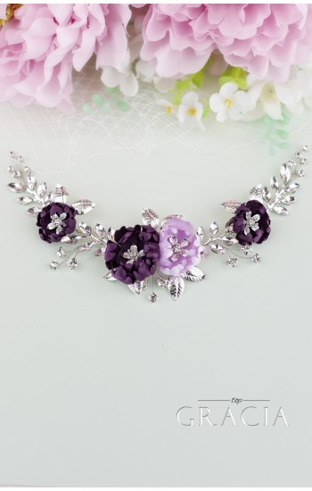 MIA Purple Lilac Wedding Hairpiece