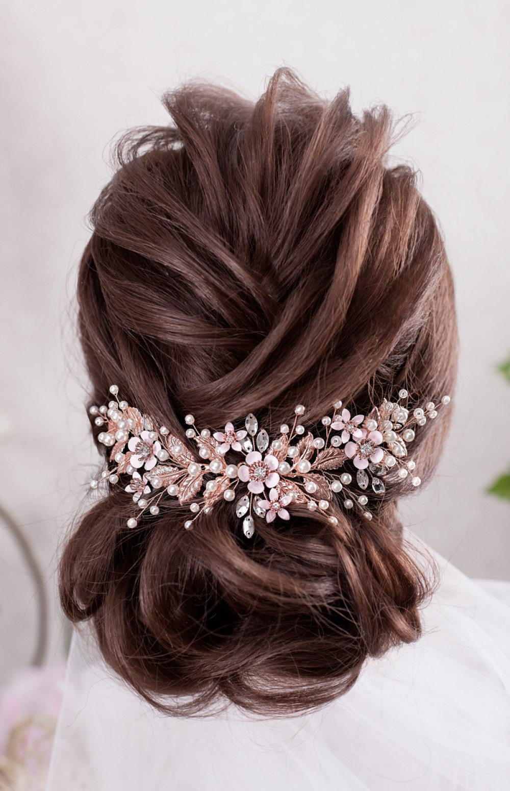 Crystal bouquet silver or Gold rose gold Brides wire bouquet