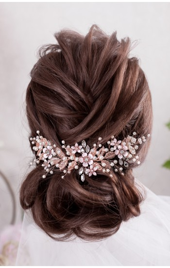 Bridal Hair Comb Looks Amazing On Any Bride S Hair