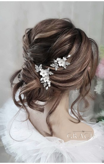 SAKURA Hair Pins for Wedding or Prom