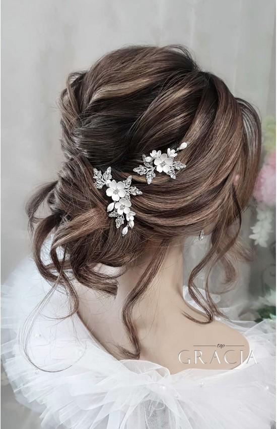 SAKURA Hair Pins for Wedding or Prom
