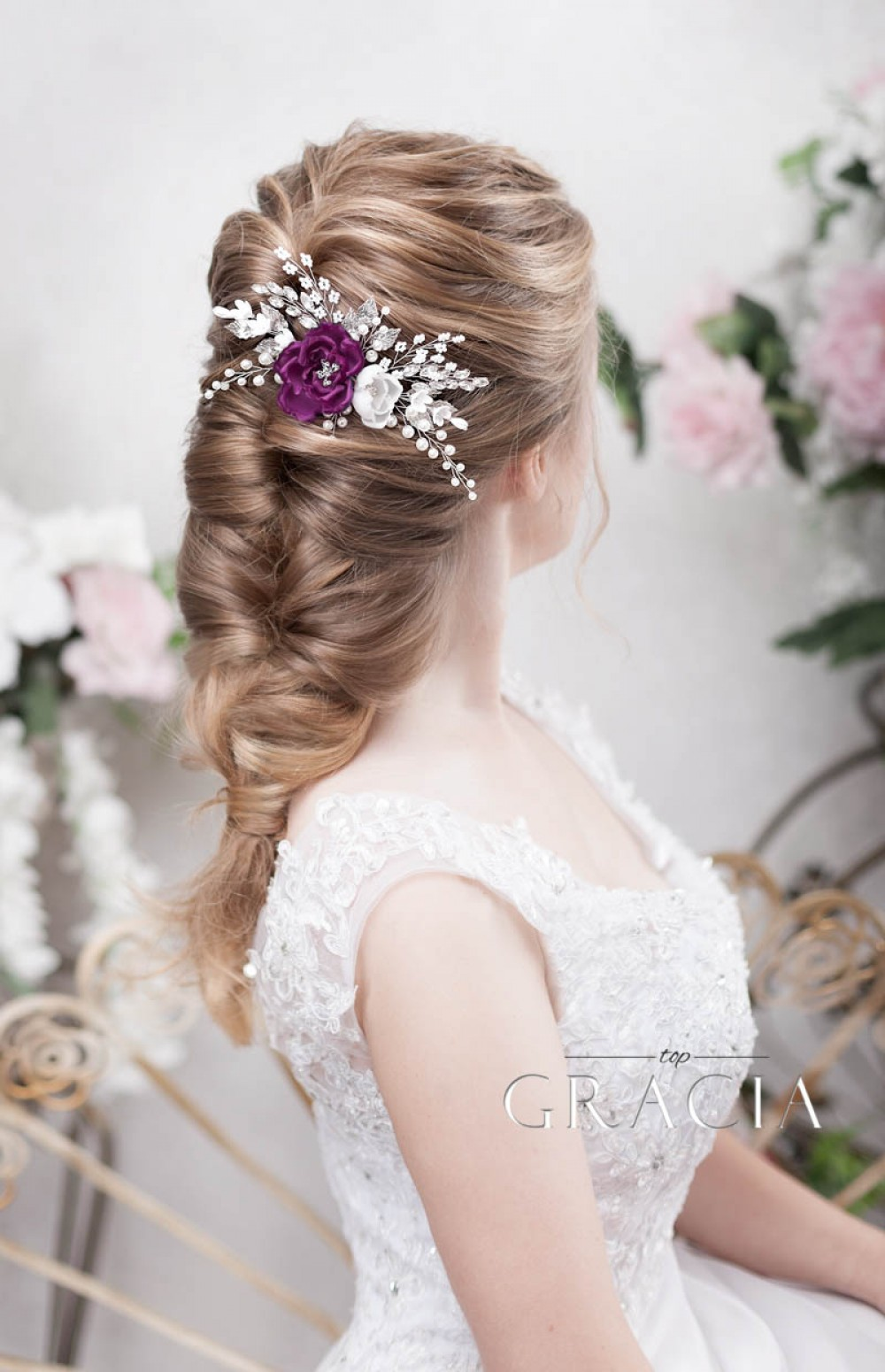 hair jewelry pieces for wedding days headbands in vintage style