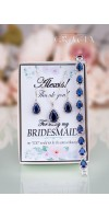 VASILIKI Sapphire Navy Blue Earrings Bridesmaid Gift September Birthstone Jewelry