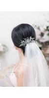 XENE Starfish Bridal Hair Comb for a Grandiose Beach Wedding Look