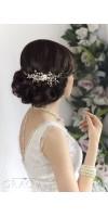 ALEXA bridal hair comb pearl wedding comb