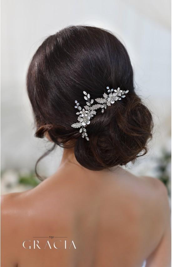 CHARA Flower Crystal Bridal Hair Pins