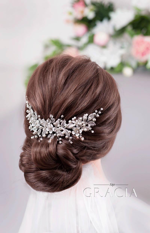 flower wedding hair piece