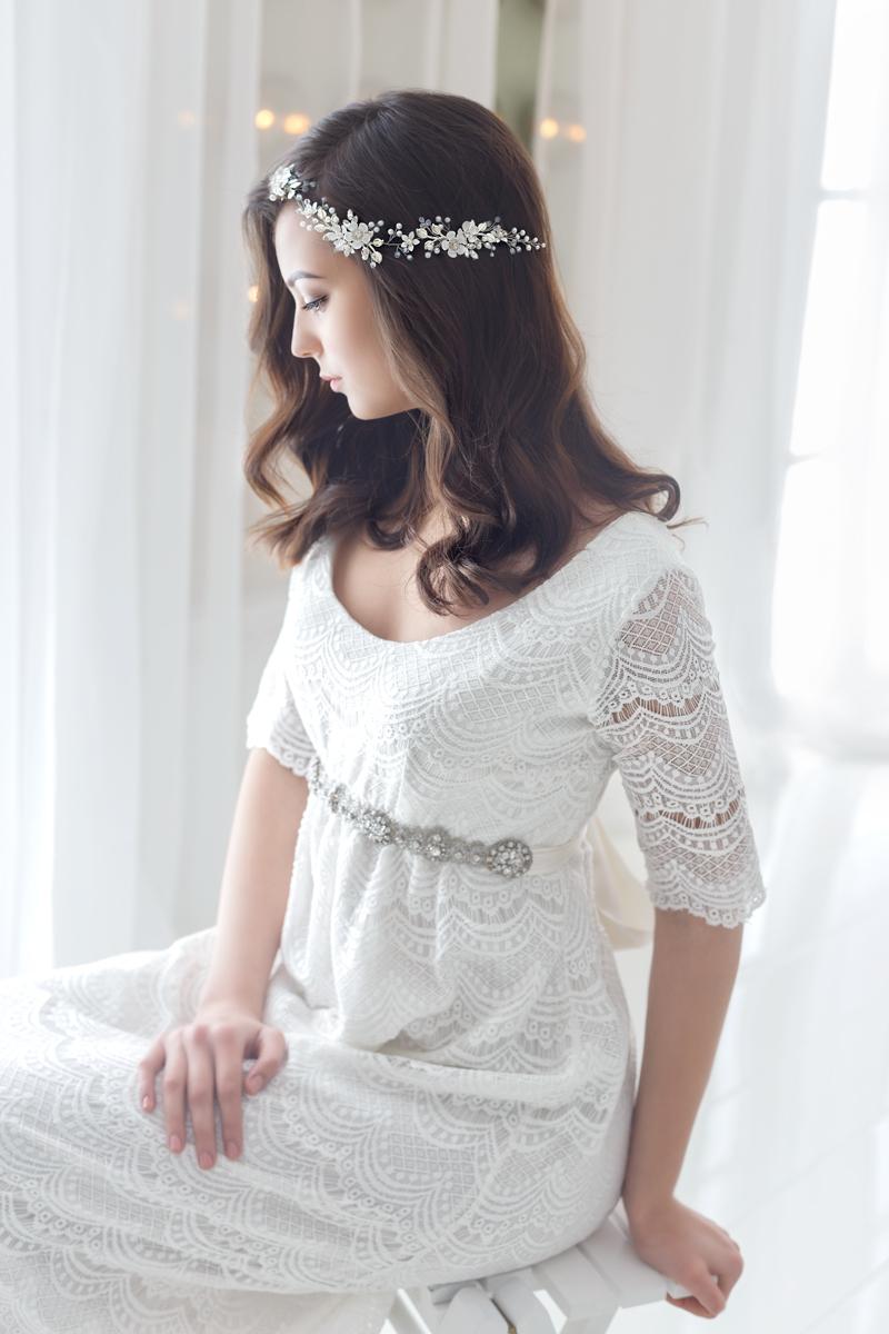 floral wedding hair accessories