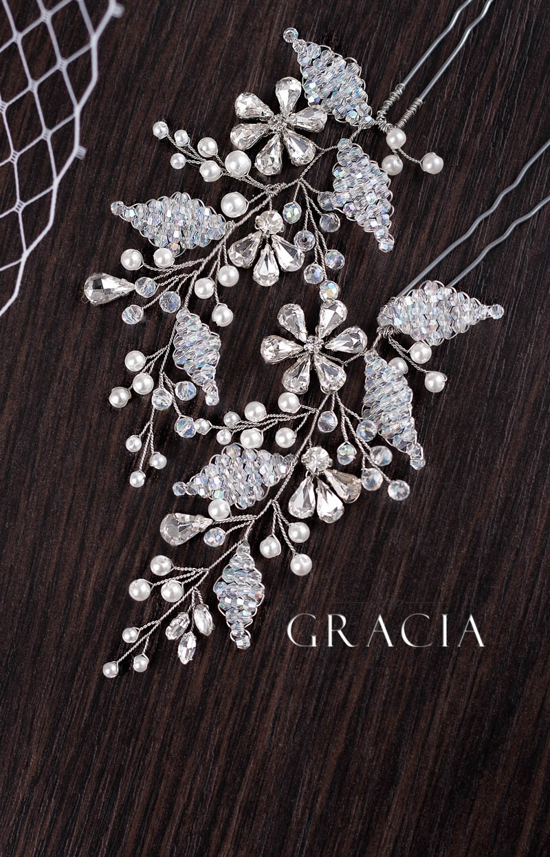 crystal_flower bridal_hair_pins